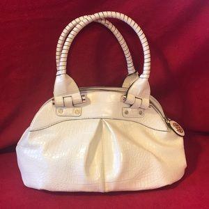 Leather Antonio Melani White Purse Handbag Tote